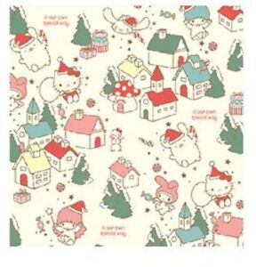 d9f99061e34 Sanrio Hello Kitty 2017 Holiday 5pc Paper Gift Wrapping Paper   eBay