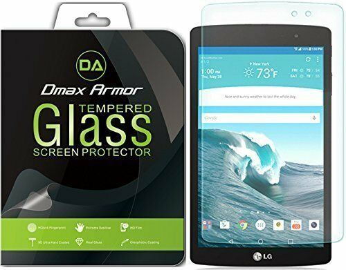 2x Dmax Armor for LG G Pad X 8.3 Tempered Glass Screen Protector