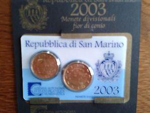 saint-marin mini sèrie 2003