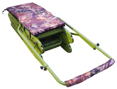 Plancha caza sede con escalera aluminio ansitzleiter transportable alta sede nuevo
