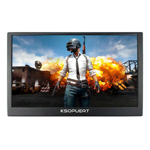 """15.6"""" 4K LCD Monitor 3840x2160 HDMI Input Speaker Build In For Game Monitor"""