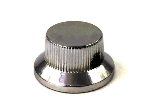 Black Nickel Metal Bell Guitar//Bass Knob for 6mm Split Shaft MK-MBP-BN 1