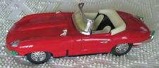 """Luxe Car Red Die Cast 11.5""""  Jaguar? Convertible With The Original Box"""