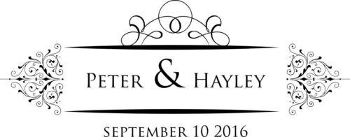 200 personnalisé mariage crest monogram autocollants étiquette seals ** choisissez votre design *