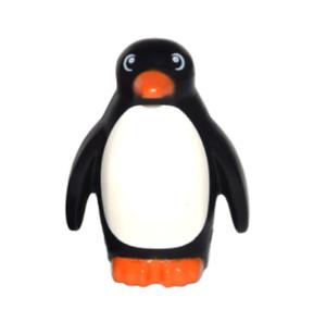 Lego Black Penguin with Flippers /& Stud on Back Orange Beak Series 16 Minifigure