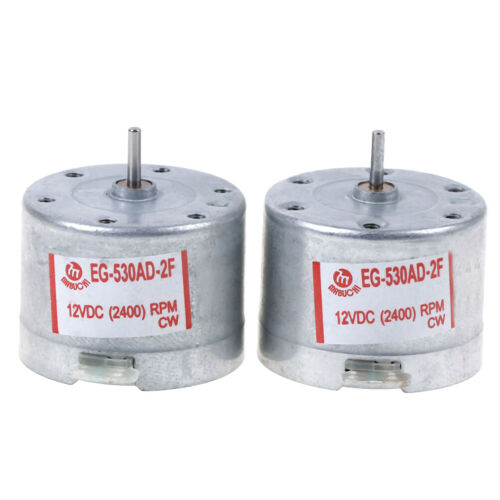 Audio motor for tape deck mabuchi EG-530AD-2F DC 12V capstan motor audiomotorX