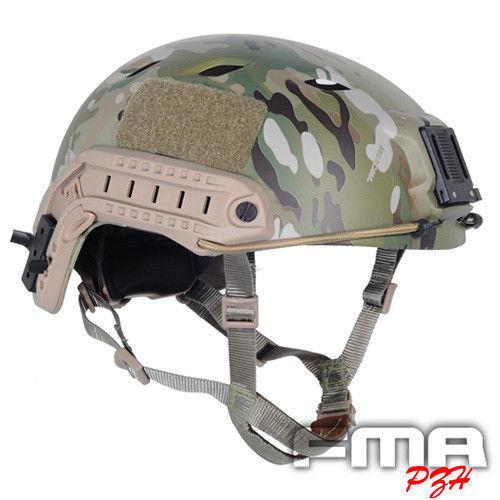 FMA Tactical Jump Helmet Multicam Fast BJ Airsoft Paintball Helmet TB472