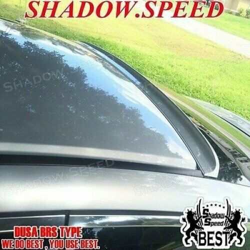 Flat Black 280 BRS Rear Roof Spoiler Wing For 1998~05 Chevrolet Cavalier Coupe