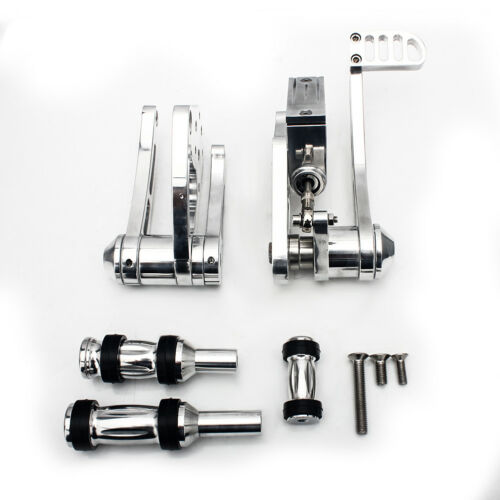 Polished Silver Forward Controls Foot Pegs for Harley Davidson Softail 1984-1999