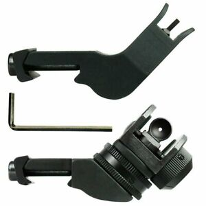 New-Front-and-Rear-45-Degree-Offset-Adjustable-Tactical-Iron-Sight-Set
