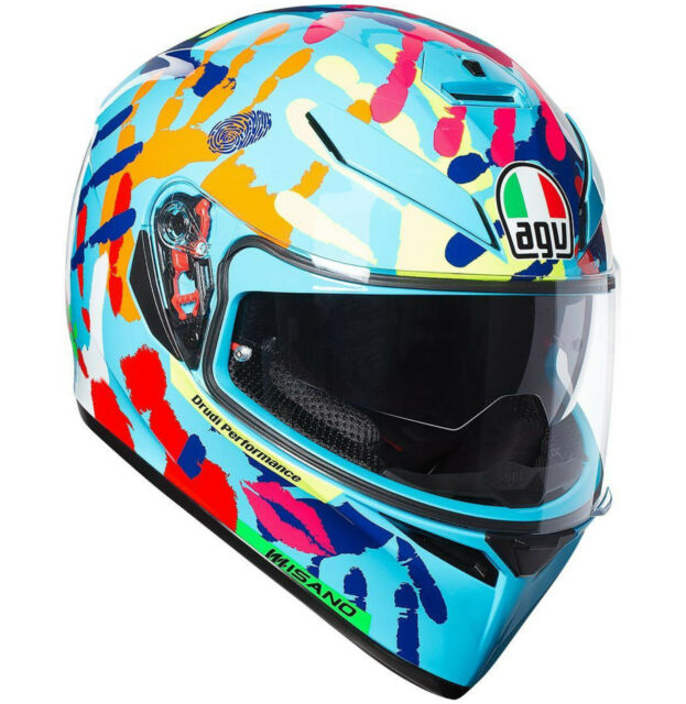 Agv K3 Sv Top Misano 2014 Rossi Casque Sz MS 57 Pinlock New 2018
