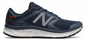 New-Balance-Men-039-s-Fresh-Foam-1080V8-Breathable-Running-Shoes-Navy-With-Blue