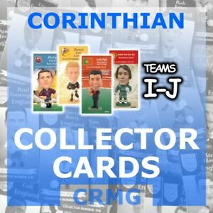 CRMG Corinthian ProStars COLLECTOR CARDS TEAMS I-J (choose from list)
