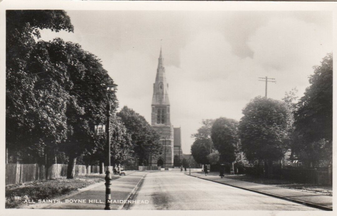 RP: MAIDENHEAD, England, 1910-20s; All Saints, Boyne Hill