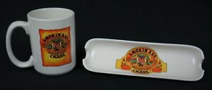 Vintage-034-SMOKIN-039-ASS-034-Fine-Leaf-Tobacco-Ceramic-Coffee-Mug-amp-Cigar-Ashtray-Nice