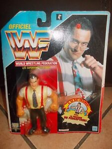 Figurine Officiel Wwf Hasbro Irs Irwin R. Schyster (édition Française)