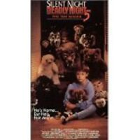 Silent Night, Deadly Night - Pt. 5: The Toy Maker (vhs, 1991)