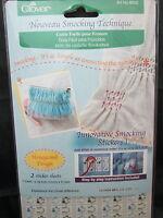 Clover Noveau Smocking Technique - Honeycomb Design 8600