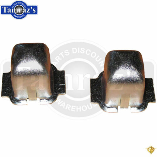 Plug PR. Insert Holder Retainer 55-57 Chevy Rear Seat Floor Pan Pocket