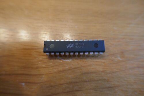 Holtek HT651 IR DECODER 18 Bit Remote CMOS