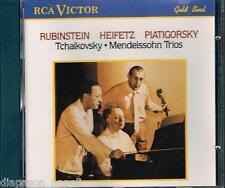 Tchaikovsky: Trio Op.50; Mendelssohn: Trio Op.49 / Heifetz, Rubinstein, Plati CD
