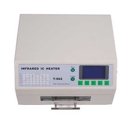 110V T-962 Infrared IC Heater,infrared Reflow Bga Ovens Rework Station 180×235mm