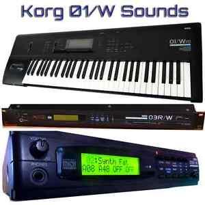 Korg-01-W-O1-W-03R-W-05R-W-Largest-Sound-Collection