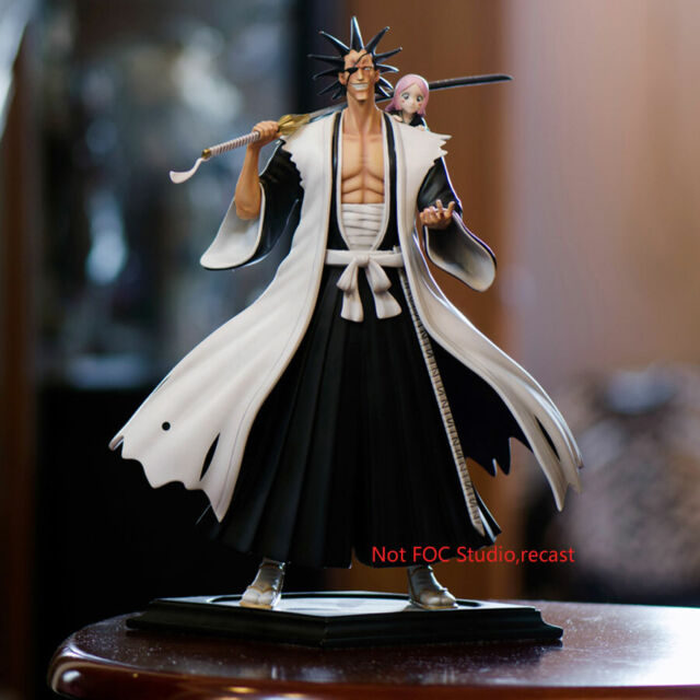 BLEACH Kenpachi Zaraki Resin Figurine Figure Model FOC Same Style Anime IN STOCK