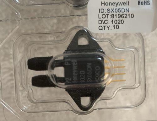 Honeywell SX05DN Integrated Pressure Sensor SX DIFF GAUGE 0 PSID TO 5 PSID