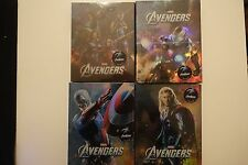 Avengers Novamedia Exclusive Blu ray Steelbook Quad Pack #386 FullSlip