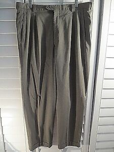 ARMANI-Collezioni-PANTS-GRAY-PLEATED-Wool-TROUSER-Mens-Italy-SIZE-36-31-5