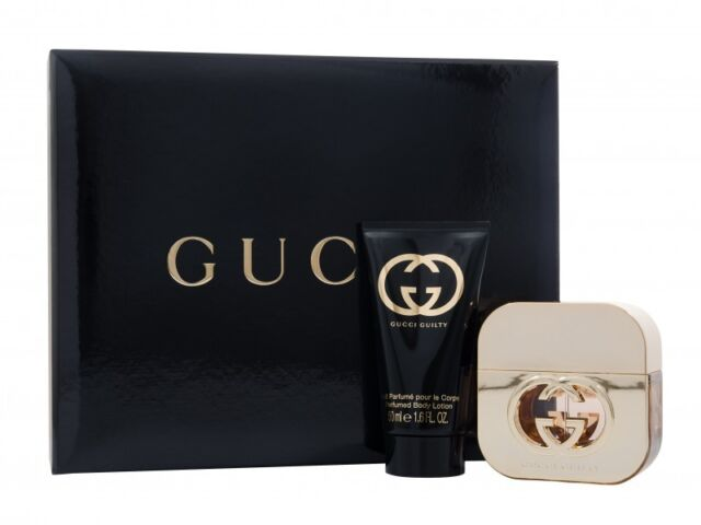 11e4884c7c GUCCI GUILTY FOR HER GIFT SET 30ML EDT + 50ML BODY LOTION - WOMEN'S FOR HER