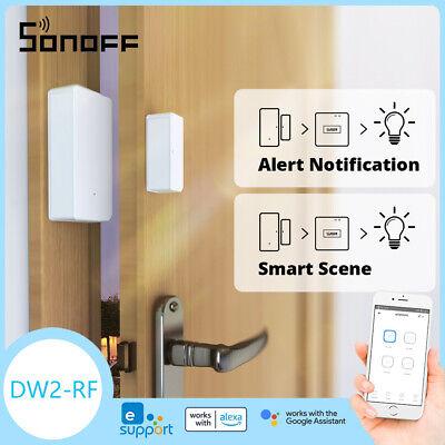 SONOFF DW2-RF 433MHZ RF Wireless Door//Window Sensor Work with IFTTT