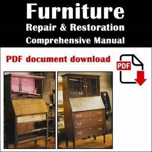 Furniture Restoration and Repair Manual