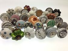 10 Mixed Shabby Chic Vintage Style Bargain Price Cupboard Kitchen Door Knobs