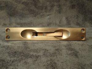 "Ives By Schlage SP262B10 6/"" Flush Bolt Solid Brass Satin Bronze Finish 1/"" Throw"