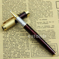 Advanced Fountain Pen Jinhao 9009 Fine Nib Claret and Golden Writing Instruments