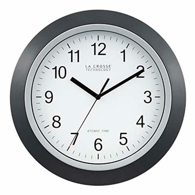 "WT-3122A La Crosse Technology 12.5/"" Atomic Analog Wall Clock"