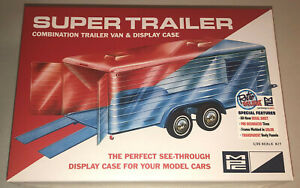 MPC-Super-Trailer-Clear-Display-Case-1-25-scale-model-kit-new-909