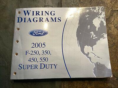 2005 Ford F-250 F-350 F-450 F-550 Wiring Diagrams ...
