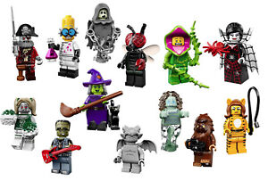 71010-LEGO-Minifigures-Series-14-monstres-halloween-au-choix-NEUF-NEW-COLLECTOR