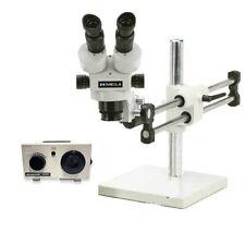 Oc White Tkmz D Meiji Stereo Zoom Binocular Microscope With Dual Light