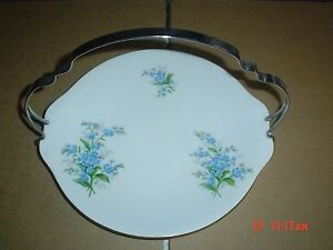 Royal-Albert-FORGET-ME-KNOT-Handled-Cake-Plate