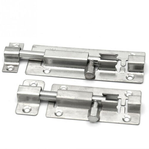 1.5//2//3//4 Inch Stainless Steel Door Latch Sliding Lock Barrel Bolt CA