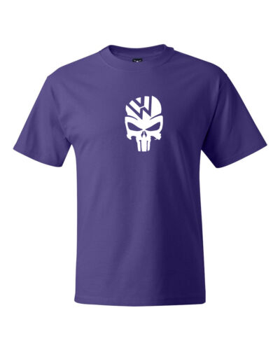 VW Skull Logo Car Racing T-shirts S-5XL