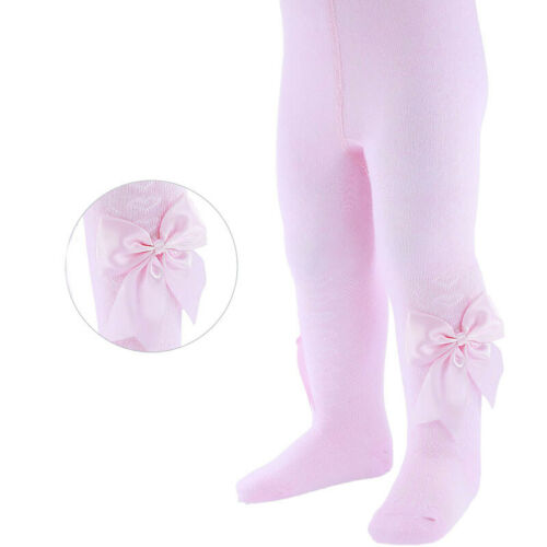 TIGHTS  girls Heart BOW Knee High Cotton rich Tight Spanish Romany