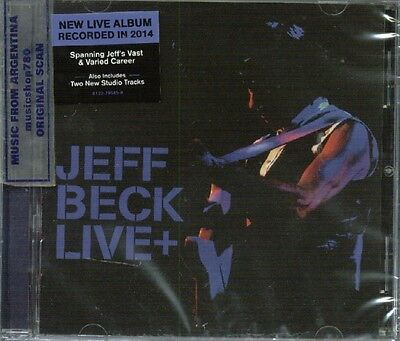 JEFF BECK LIVE + SEALED CD NEW 2015