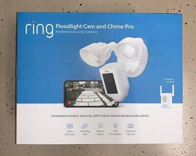 Ring Floodlight Camera Bonus Chime Pro 842861100907 Ebay