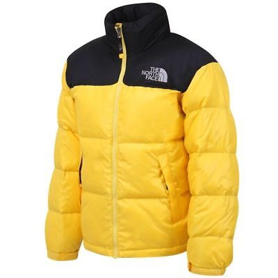 f4af82da8 THE NORTH FACE NUPTSE 700 FILL GOOSE DOWN JACKET YELLOW XL(105) puffer  parka | eBay