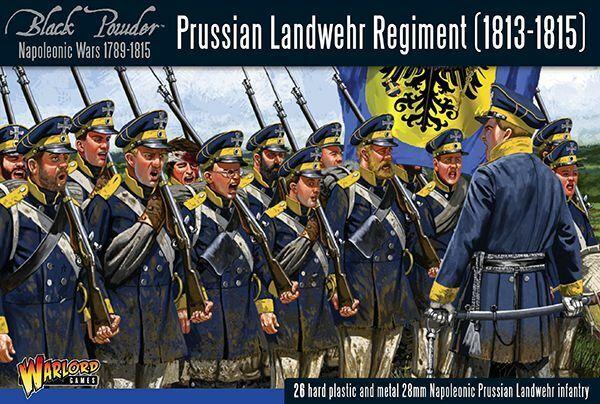 Warlord Games Prussian Landwehr Regiment 1813-1815 28mm Black Powder Preussen